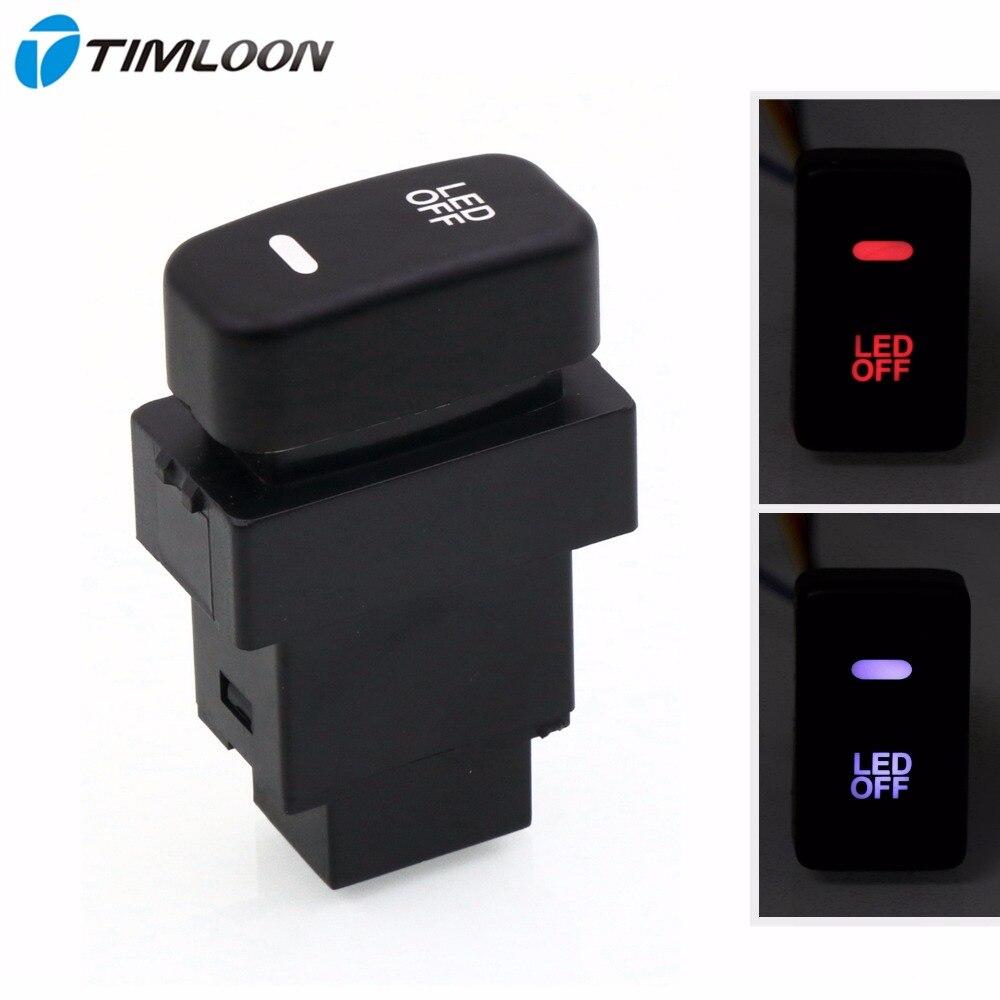 Special Dedicated 12V Car Fog Light Switch Daytime Running Lights Switch Use for Mitsubishi,asx,lancer,outlander,pajero