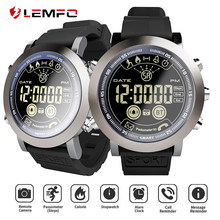 LEMFO LF23 Smart Watch 5ATM waterproof Pedometer 610MAh Battery 33months Long Standby Time Smartwatch Men reloj inteligente(China)