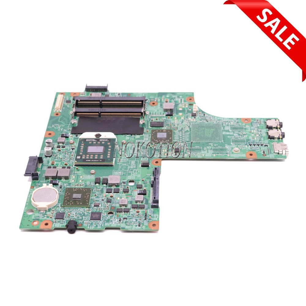 NOKOTION laptop motherboard for board Inspiron 15R M5010 CN-0YP9NP YP9NP 0YP9NP 09913-1 DG15 48.4HH06.011 ATI HD4200 DDR3 nokotion 48 4hh06 011 laptop motherboard for dell inspiron 15r m5010 cn 0hnr2m 0hnr2m hnr2m ati mobility radeon hd 4650