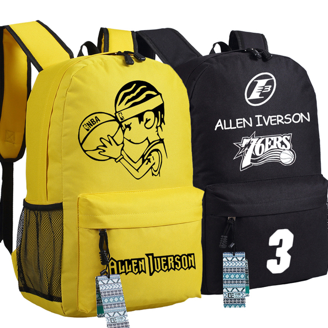 12bb6db226 3 Basket ball Fans Backpack Schoolbag Travel Students Bag Cospaly Gift Boys  Girls