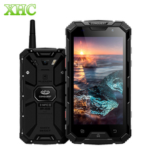 Шам S8 плюс 4 ГБ + 64 ГБ Walkie Talkie смартфонов IP68 Водонепроницаемый отпечатков пальцев ID 5,0 дюймов Android 6,0 Octa Core мобильные телефоны