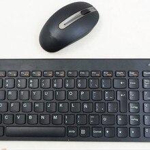 7e3edf7f888 Wireless Multimedia 2.4G Ultra-thin Mute Keyboard Mouse Set for Lenovo SK- 8861