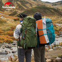 NatureHike 55L 65L Travel Climbing Bag Professional Mountaineering Backpack Waterproof Large Hiking Camping bags NH16Y020 Q