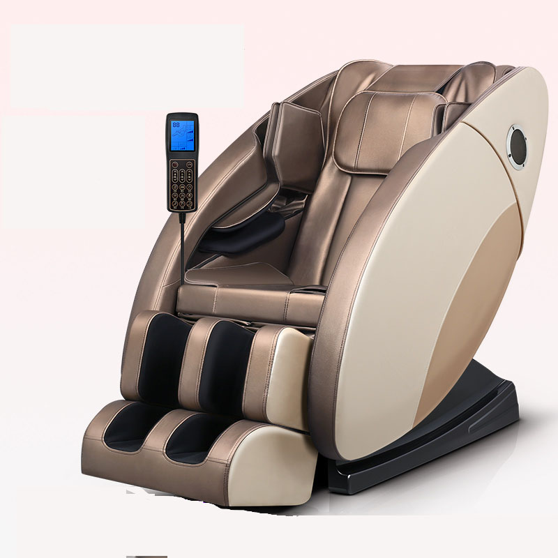 Massage Chair SL Guideway Household Multifunctional Space Chair Whole Body Kneading Massager Intelligence Small Hairy Sofa