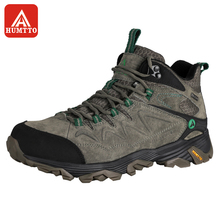 Humtto походная обувь мужская зимняя уличная спортивная обувь для альпинизма Нескользящая Теплая Обувь На Шнуровке Трекинговые кроссовки