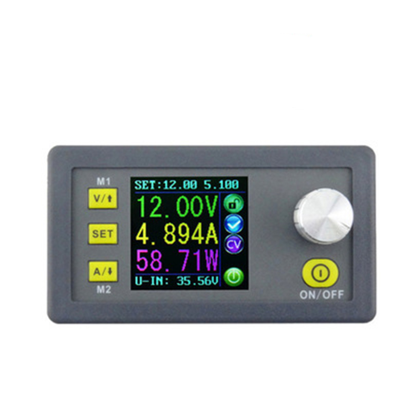 DC DPS5005 Constant Voltage current Step-down Programmable Power Supply module buck Voltage converter color LCD voltmeter 30pcs lot by dhl or fedex dps3005 communication function step down buck voltage converter lcd voltmeter 40%off