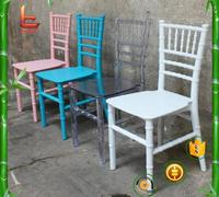 Plastic children's chair Dining Chairs Bamboo joint wedding Chair Banquet Chair