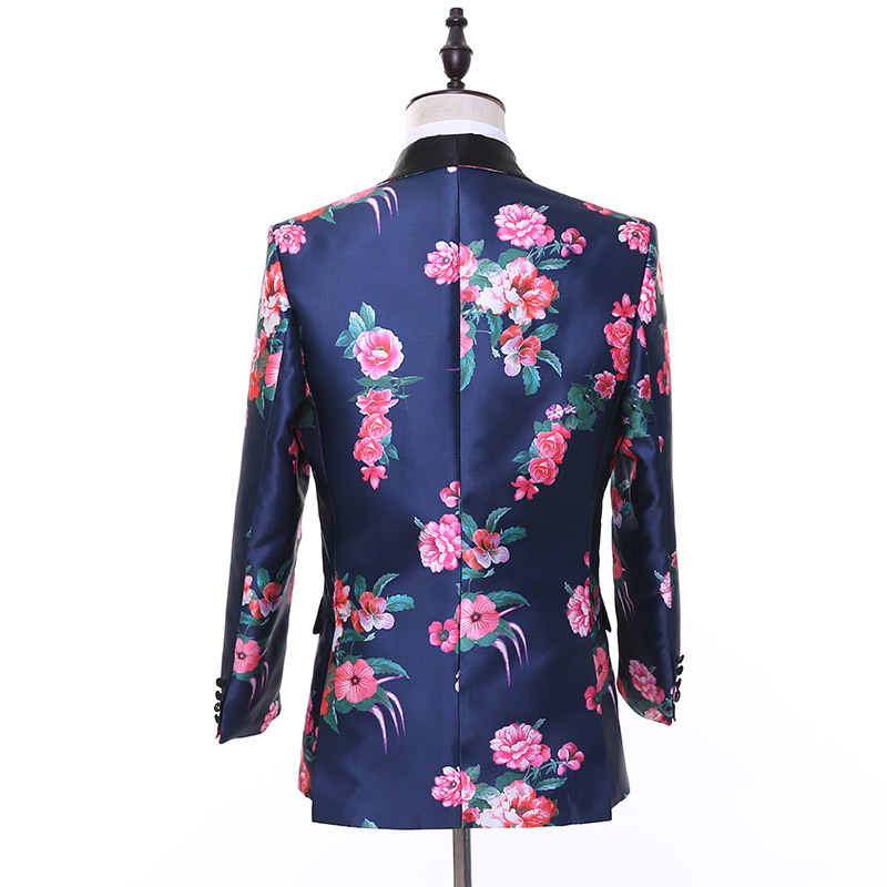 ho new 2020 best man suit business casual clothing printing suit men's cultivate one's morality - 2