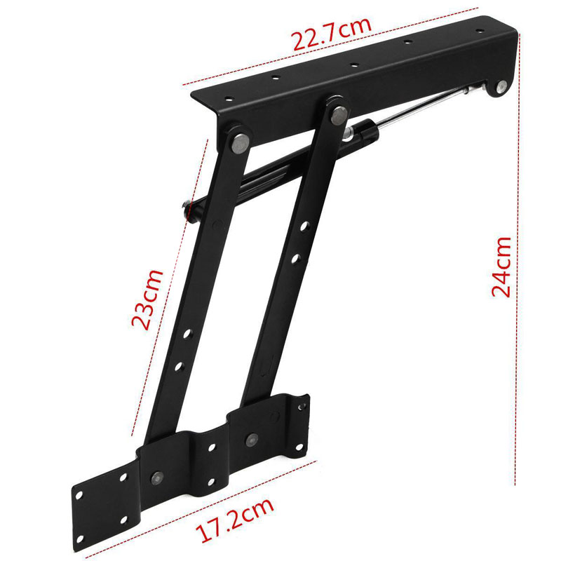 1 Pair Lift Up Top Coffee Table Mechanism Spring Hinge Hardware Fitting Table Hinge For Furniture Accessories
