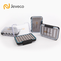 Jeveco Brand JFB 009 108 78 32 Plastic Waterproof Double Side Cover Slit Foam Inside Fly