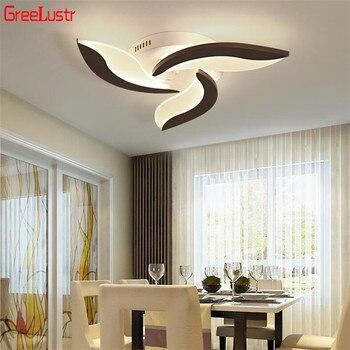 36W אקריליק Led תקרת אורות לבן Plafond Lustres לסלון חדר שינה AC85-265V תקרת דקו מנורות אור גופי
