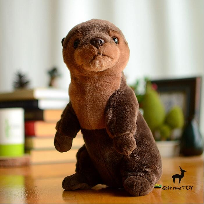 Simulation Stuffed Animals Doll Toy  Plush Otter Dolls  Kids Toys Christmas Gifts Snake ferret plush dinosaur doll child toys magic dragon simulation stuffed animal toy dolls stores