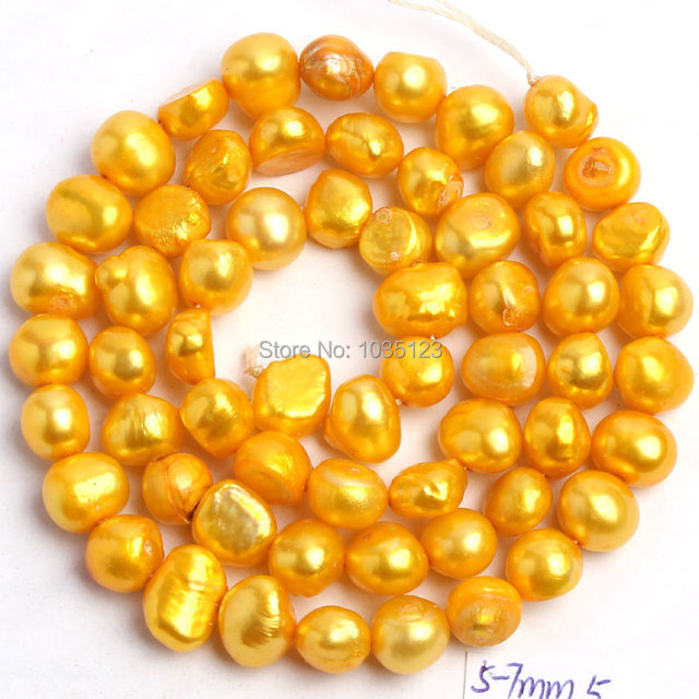18Color 5-7mm Natural Freshwater Pearl Beads 2