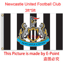 England Newcastle United FC decoration Flag A 3ft*5ft (150cm*90cm)
