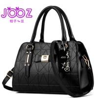 JOOZ Brand New Luxury Women Handbags Lady Shoulder Bag PU Leather Female Messenger Bags Satchel Boston