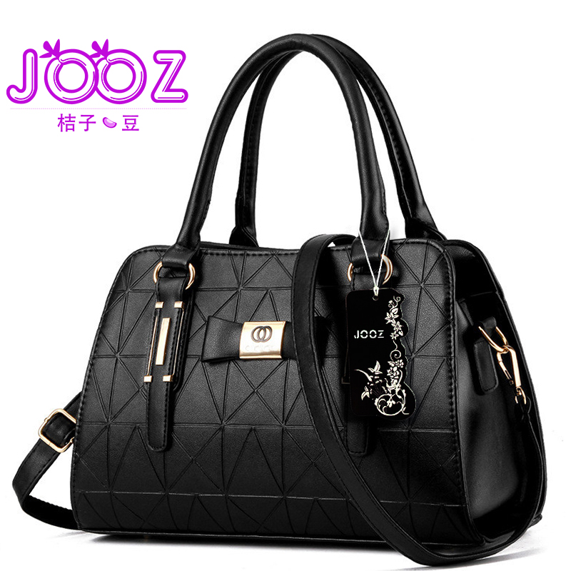Jooz New Luxury Women Handbags Lady PU Leather Crossbody Shoulder Messenger Bags Female Boston Bowknot Ladies Hand Bags jooz brand luxury belts solid pu leather women handbag 3 pcs composite bags set female shoulder crossbody bag lady purse clutch
