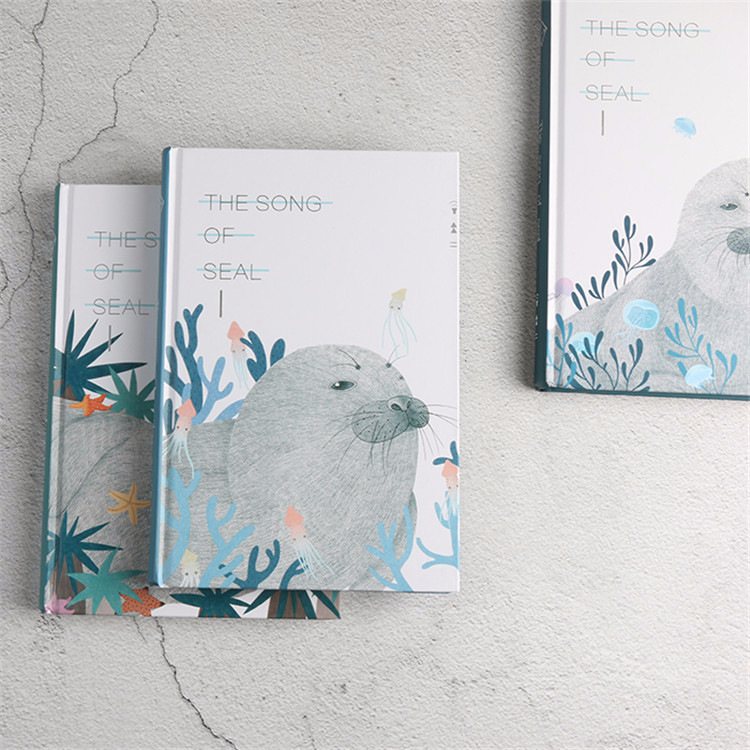 1 Piezas De Corea Papelería Pequeño Limpia Lindo Hardface Cuaderno De Tapa Dura Estudiante Nota Libro Diario