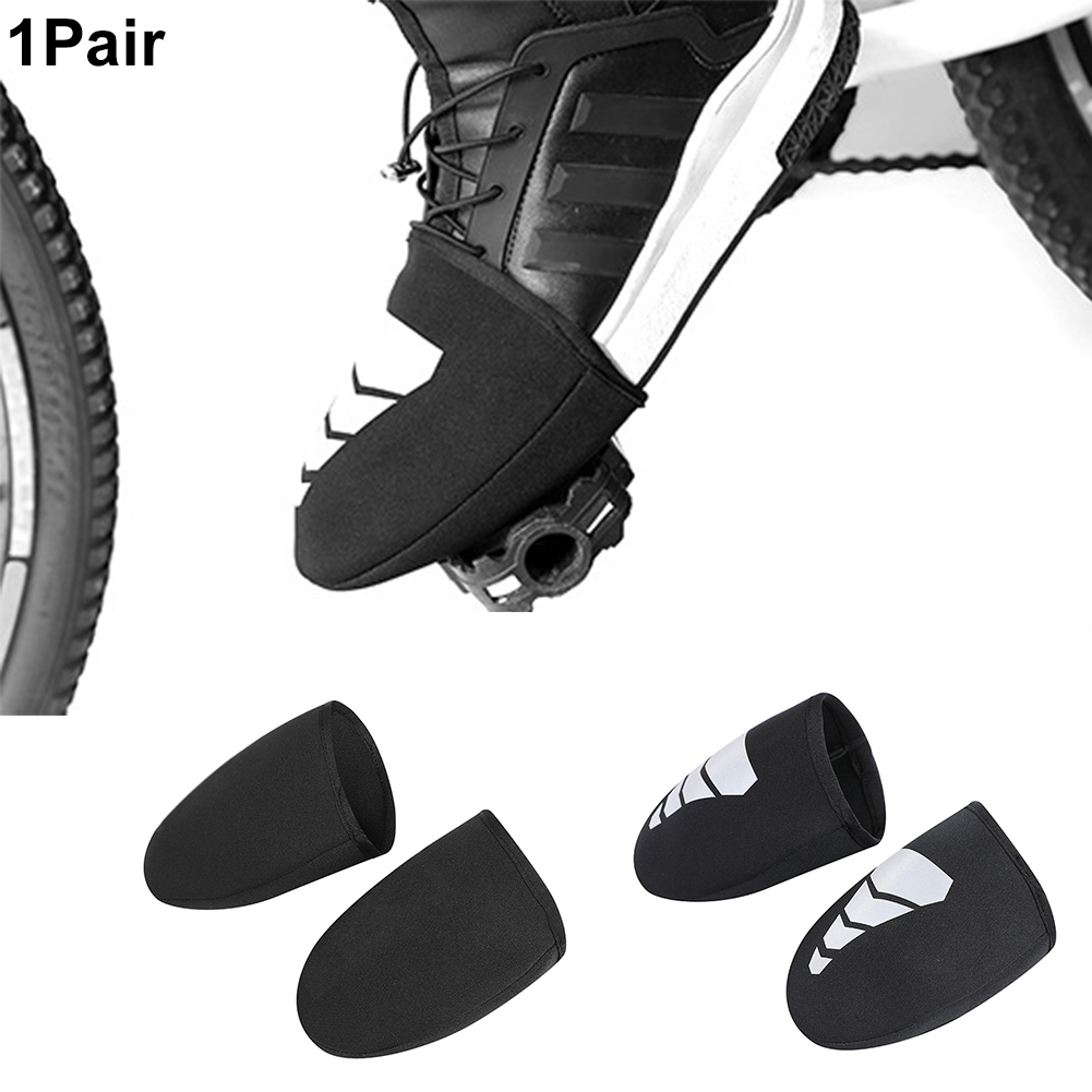 1 Pair Unisex Thickening Motorcycle Anti Rain Biking Overshoes Boot Riding Protective Waterproof Non Slip Shoe Cover Cycling