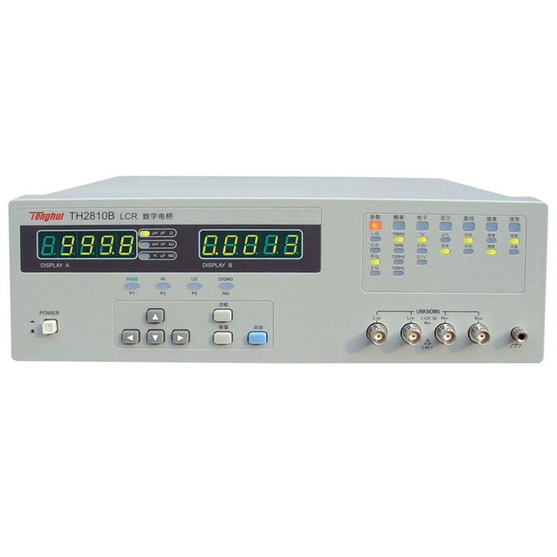 100Hz-10khz, digital LCR meter Tonghui TH2810B  two kinds output impedance Wide Measurement Range Resistance  inductance tester lutron lcr 9083 digital lcr meter