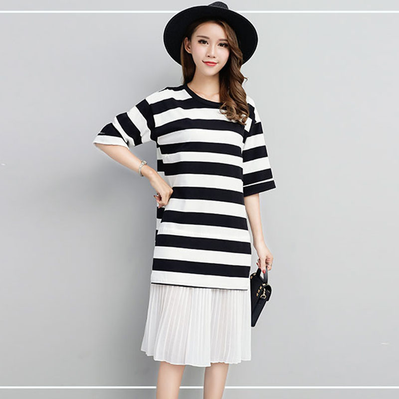 Zipper Nursing Maternity Dresses For Pregnant Women Clothes Striped Feeding Pregnancy Dresses Breastfeeding Maternity Clothing