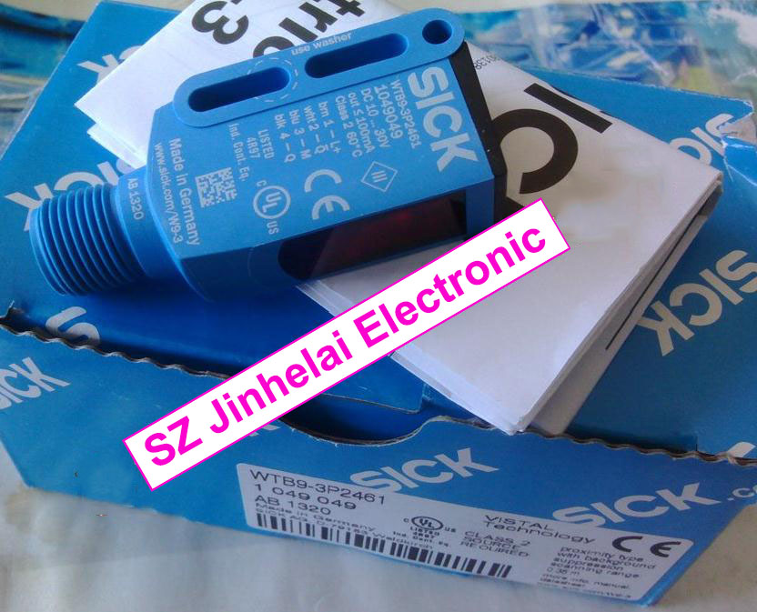 WTB9-3P2461   New and original SICK  Photoelectric switch, photoelectric sensor wl18 3p430 new and original sick photoelectric switch photoelectric sensor