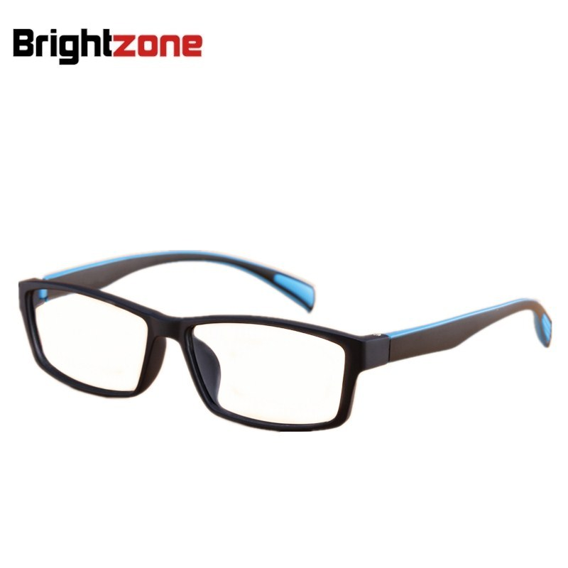 2016 New Fashion Korean Brand TR90 Men Sports Eyeglasses Frame Flexbile Square Optical Frame Basketball/Football Jogging Goggle KhkXFJZR0A