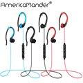 A. comandante 4.1 auriculares inalámbricos bluetooth auricular bluetooth headset micrófono auricular del deporte para el iphone android teléfono bt019
