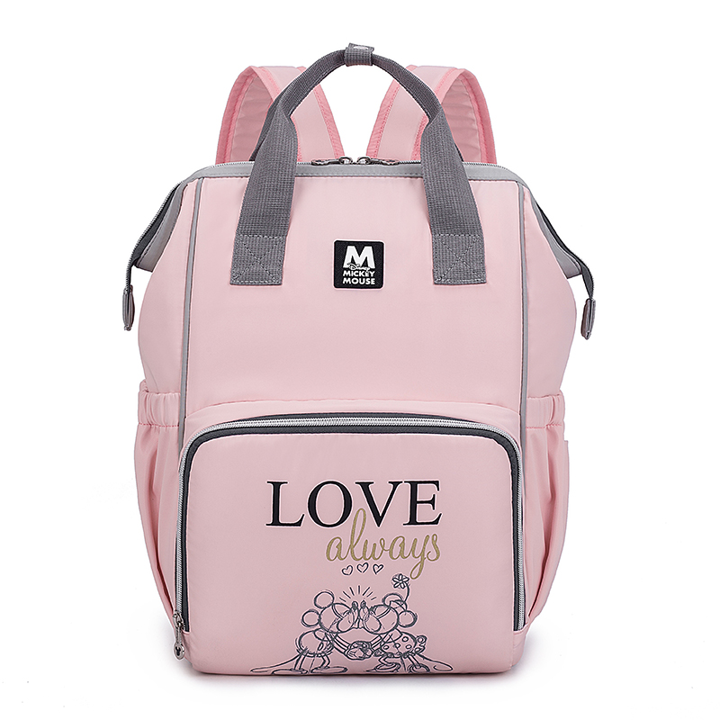 Disney Fashion Maternity Baby Diaper Bags Backpack Large Capacity Waterproof Storage Napper Stoller Travel Mommy Nursing Bag in Diaper Bags from Mother Kids