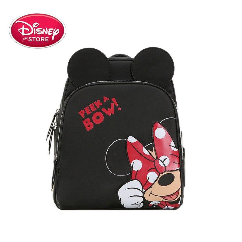 Disney Cartoon Fox Diaper Bag Backpack Designer Nursing Baby Care Bag Travel Nappy Bag Organizer Waterproof Maternity Large 2019