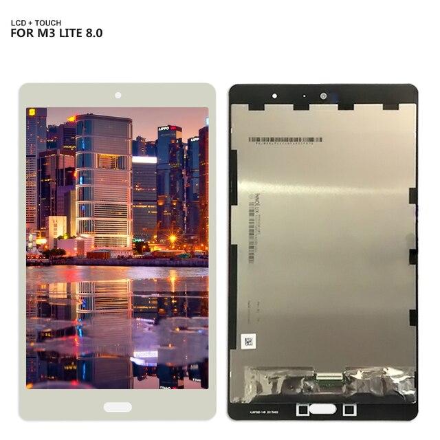 """Đối với 8.0 """"Huawei M3 Lite 8 CPN-W09 CPN-AL00 CPN-L09 LCD Hiển Thị Digitizer Màn Hình Cảm Ứng Bảng Điều Chỉnh Lắp Ráp Cảm Biến Công Cụ Miễn Phí"""