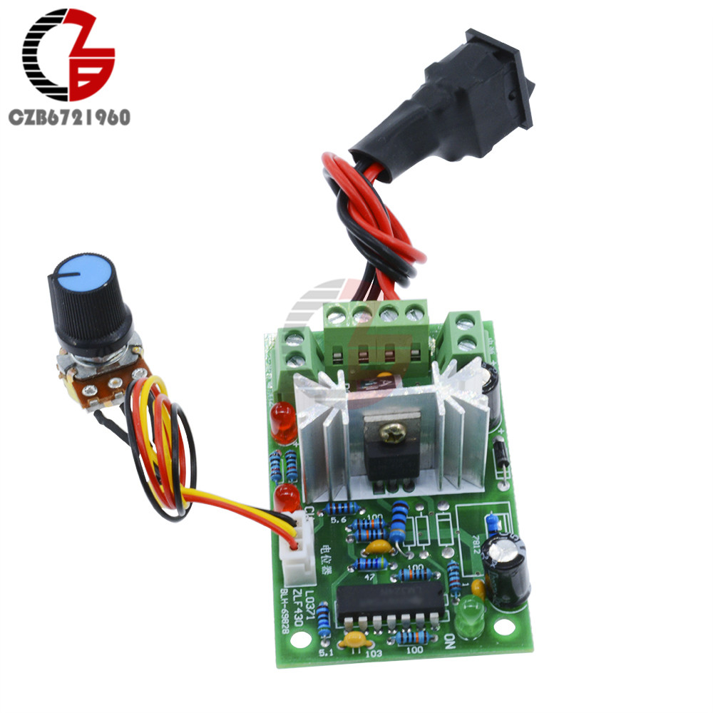 6 30v Dc Motor Speed Controller Reversible Pwm Control Forward Is The Bidirectional Circuit Which Allows And Reverse 1 2 3