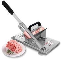Multifunction Meat Slicer Beef Mutton Slicer Machine Commercial Home Vegetable Roll Blender Manual Meat Planer