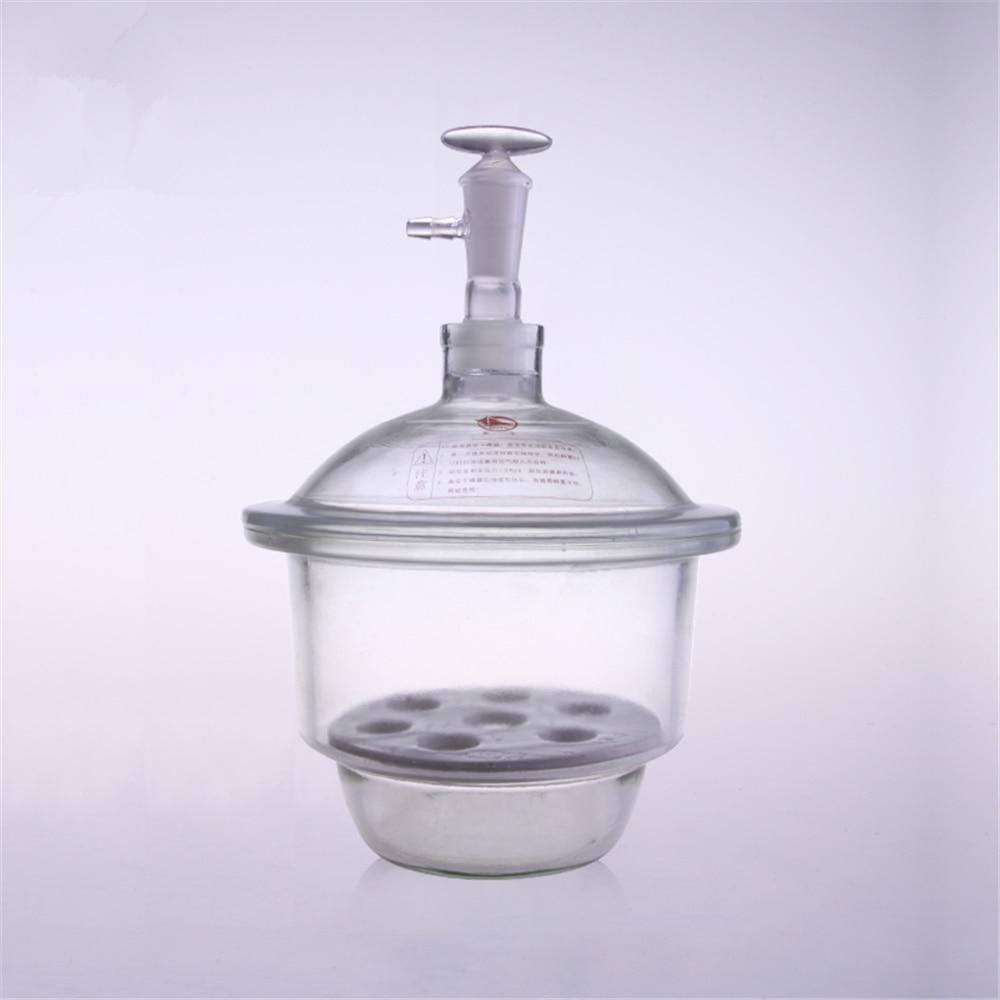 210mm Vacuum White Glass desiccator jar lab dessicator dryer Lab glassware Kit Tools lab drying equipment free shipping organic chemistry laboratory glassware kit lab glassware kit borosilicate glass 3 3
