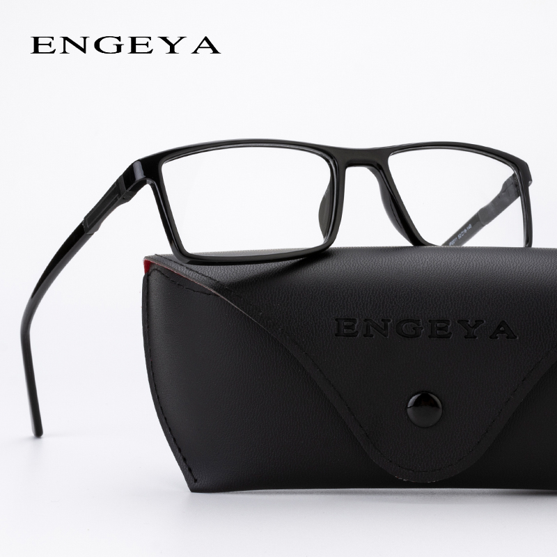 ENGEYA Men TR90 Brand Designer Eyeglasses Frame Optical Retro Glasses Myopia Spectacle Frame Classic 5 Colors #IP2009#