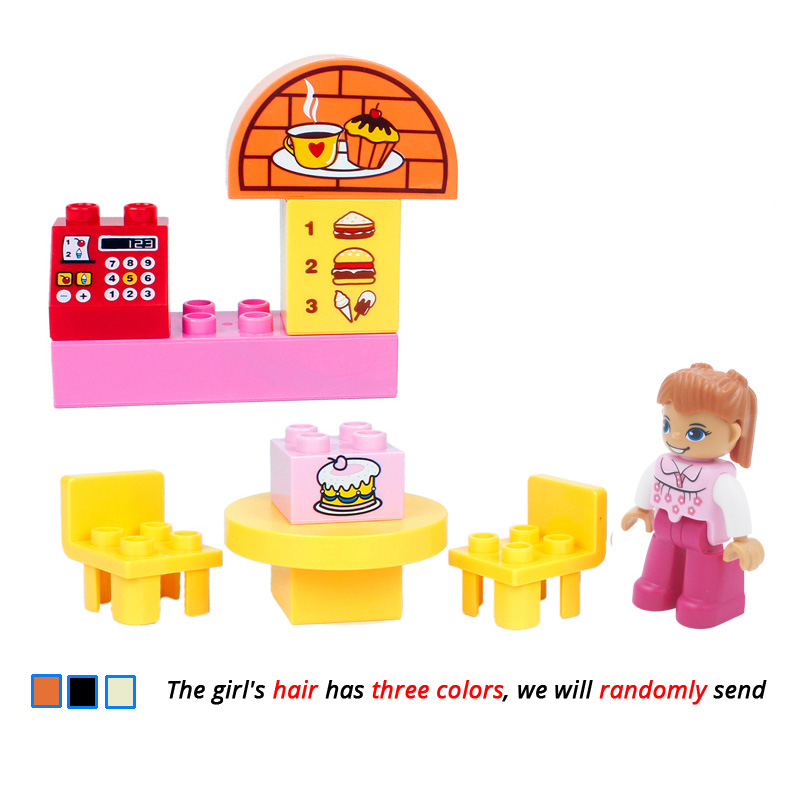UMEILE-16-Style-Original-Classic-Big-Building-Block-Cowboy-Cake-City-Girl-Figure-Kids-Toys-Compatible-with-Duplo-Christmas-Gift-1