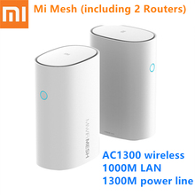 купить Xiaomi Mi Router Mesh WiFi 2.4 + 5GHz WiFi Router High Speed 4 Core CPU 256MB Gigabit Power 4 Signal Amplifiers for Smart Home по цене 12173.35 рублей