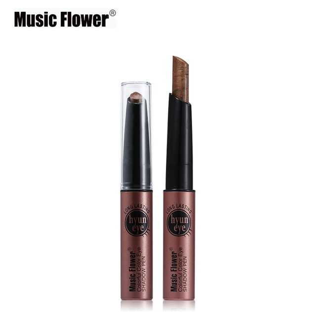Makeup Cosmetic Music Flower Highlighter Eye Shadow Pencil Shimmer Eyeshadow Pigment Stick Pen Eyeshadow Single Color Pigment 1