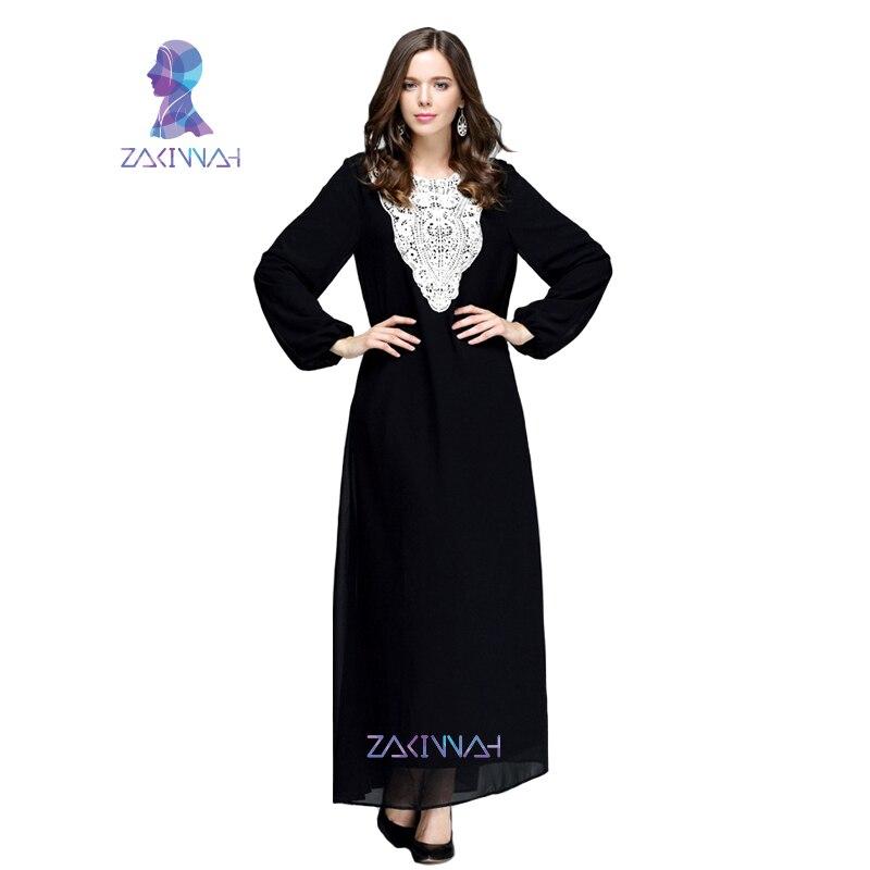 HSZ-10009 new summer design muslim Chiffon Casual women garment plus size high quanlity ropa ni turkish women caftan