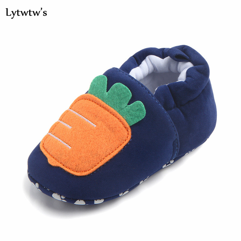 1 Pairs Lytwtws Kids Girls Boys First Walkers Ninas Newborn Infantil Kawaii Animals Canvas Baby Toddlers Zapatos Shoes Children