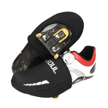 Bicycle Bike Shoes Cover Bike Cycling Shoes Toe Cover Winter Waterproof Warm Protector Boot Case Overshoes Cold Proof Shoe Cover