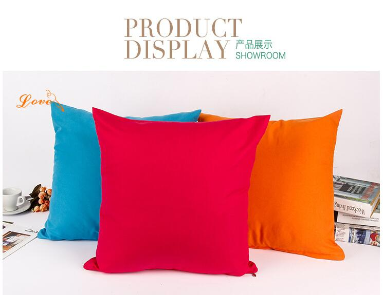 Free Shipping 1 pcs 45*45cm Cushion Cover and Pillow Case for Office - Home Textile