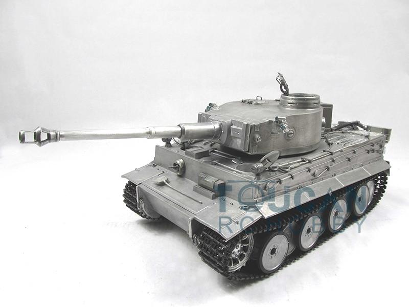 100% Metal Mato 1/16 Tiger I RC RTR Tank Model Infrared Barrel Recoil Metal Color 1220 TH00643