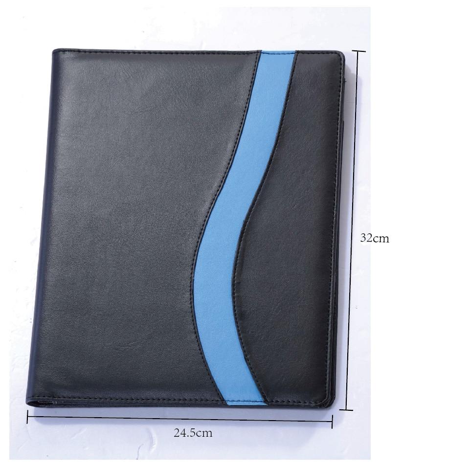 [Livraison gratuite] housse en polyuréthane FX88 avec note A4, carte porte-stylo paquet de fichier gestionnaire de société bureau utiliser portefeuille, 1 pc/lot