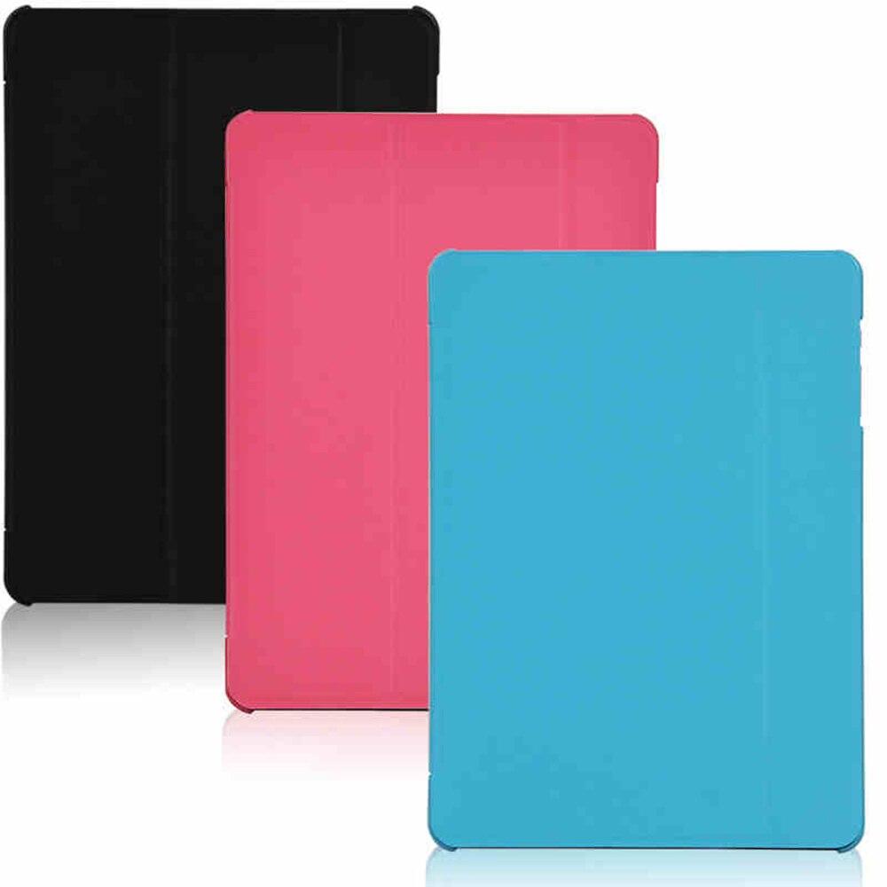 Moda tres pliegues PU cuero plegable Folio cubierta para ALLDOCUBE cubo U65GT hablar 9X para 9,7 ''Tablet PC caso de la cubierta