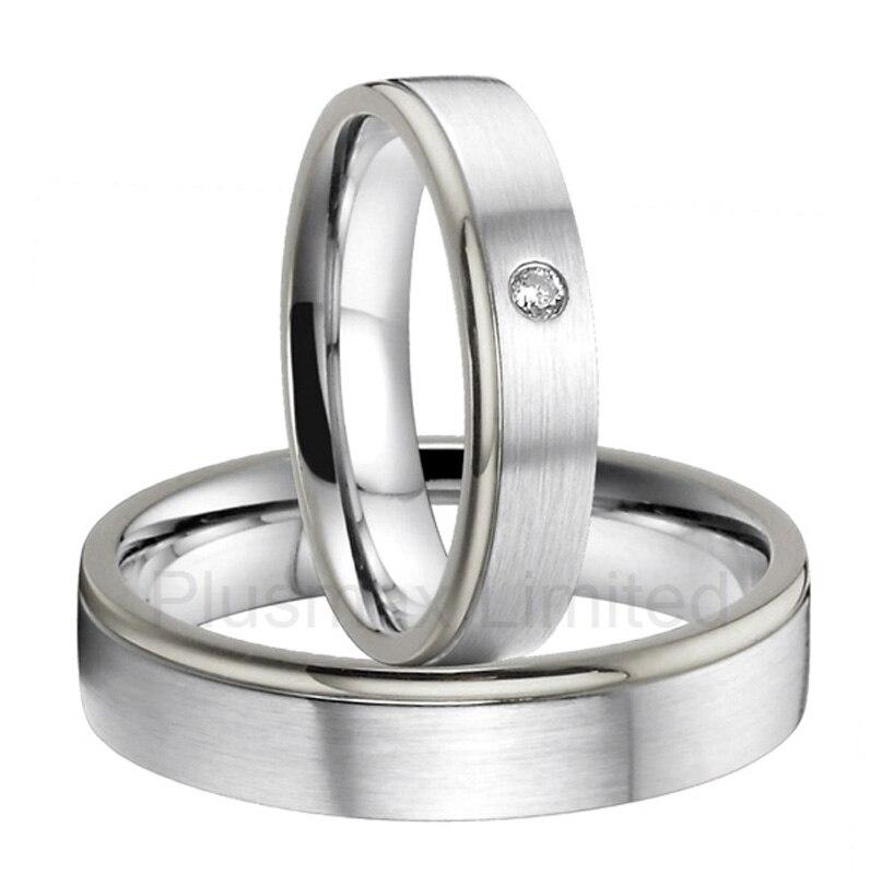 anel de casamento europe design custom titanium band wedding rings women menchina mainland