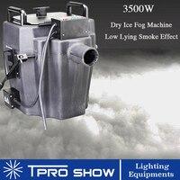 3500W Fog Machine Ground Smoke Machine Dmx Dry Ice Low Lying Fog Covered 200 Sqm Stage Wedding Party Floors