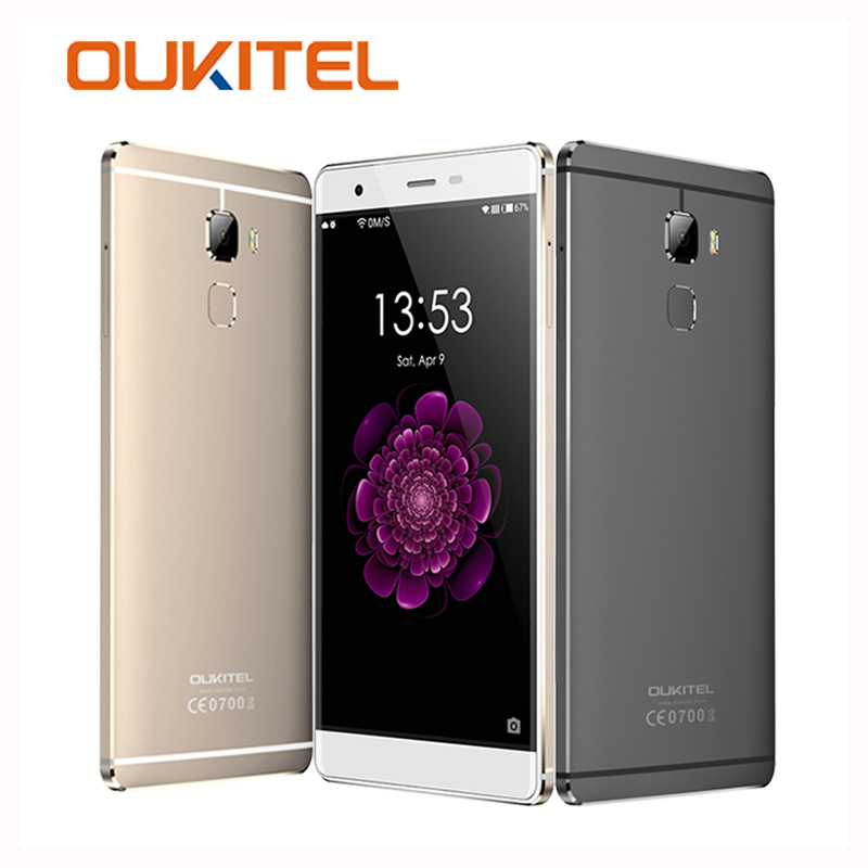 OUKITEL U13 Mobile Phones MTK6753 Octa Core 1 3GHz Smatphone 64GB ROM 3GB RAM 5 5