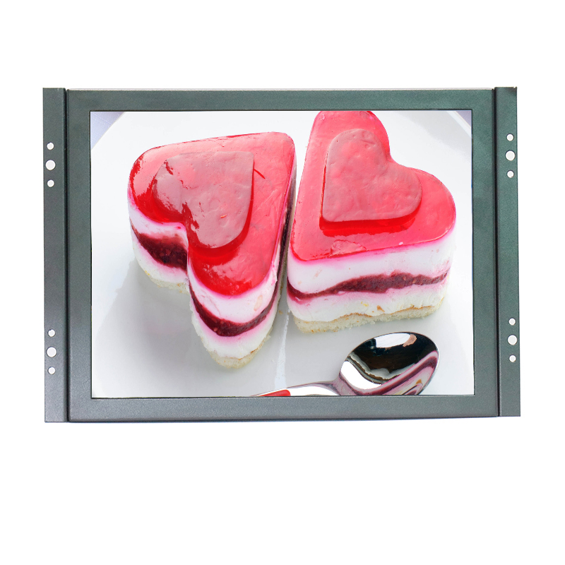 KF1009 10 Inch 800*600 metal case open frame lcd monitor for industrial with AV/BNC/VGA/HDMI/USB interface цена
