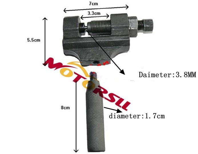 цена на Chain Splitter Cutter Breaker Repair Tool 420 428428H 520 530 Mini Moto ATV Quad Scooter Dirt Pit Buggy Go Kart