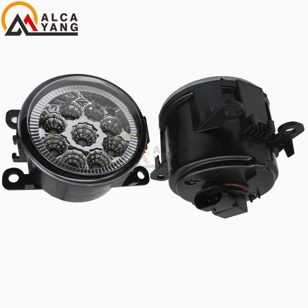 6000K CCC 12V car-styling DRL Fog Lamps lighting LED Lights 55W /1 SET For Renault DUSTER LATITUDE LOGAN Laguna / MEGANE 2/3/CC